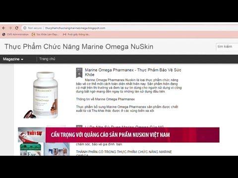 Cẩn trọng với quảng cáo sản phẩm Nuskin Việt Nam