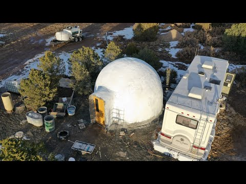 Dome Cabin Build Start to Finish