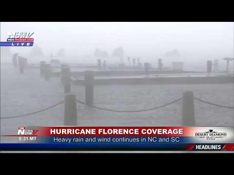 Florence slams North and South Carolina -- live updates