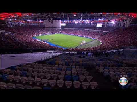 Início Da Transmissão De 🇦🇱 Flamengo X Emelec 🇭🇳 - Conmebol Libertadores 2019 (Globo)
