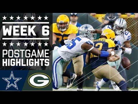 Cowboys vs. Packers (Week 6) | Game Highlights | NFL