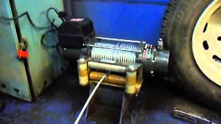 Автомобильная электрическая лебедка Автоспас ЛПЭ45ВИ