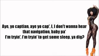 Nicki Minaj - Muny (Material Girls) Lyrics Video
