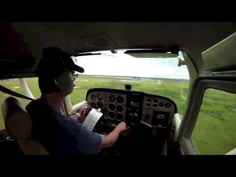 Cessna 172 Crosswind Overshoot