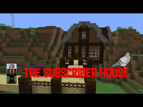 The Subscriber House! Minecraft Pigeon Server #2 (Server Saturdays)