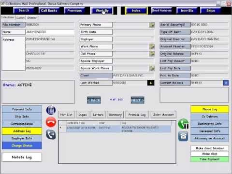 Collections MAX Debt Collection Software Demo