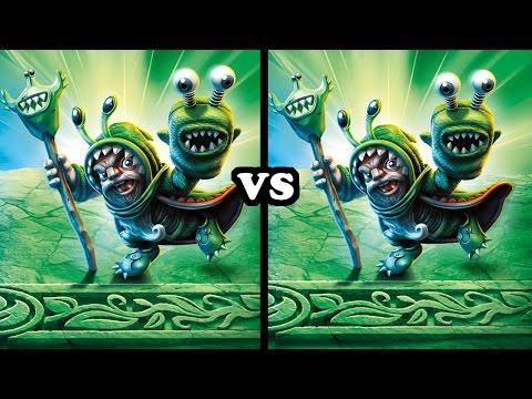 Skylanders Imaginators - Good Chompy Mage VS Evil Chompy Mage