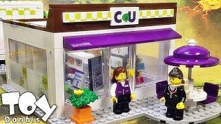 씨유 우리동네 CU 편의점 옥스포드 타운 레고 호환 장난감 조립 리뷰 oxford town convenience store block