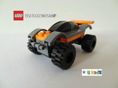 สอนต่อเลโก้รถแข่ง (วิดีโอแนะนำของเล่น เกมส์ต่อเลโก้)
