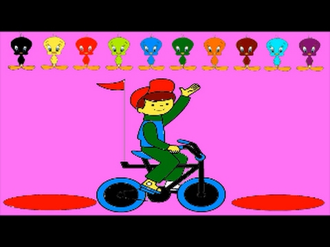 Sepeda Anak Mewarnai Saya Pelajari Warna Youtube