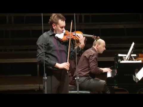 Liszt Grand Duo Concertant Voytek Proniewicz & Wojciech Waleczek live at Lutosławski Concert Studio