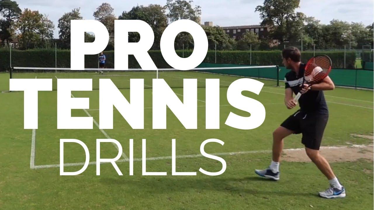 Pro Tennis Drills - Train Like a Pro