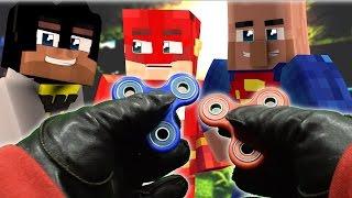 Realistic Minecraft: Fidget Spinners in Minecraft - Fake superman?
