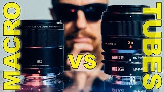 Macro Lens vs Extension Tubes by @PhotoJoseph ▶︎What