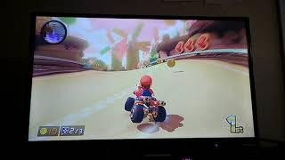 Let's Play: Mario Kart 8 Mushroom Cup Part 3 (Mario Gameplay)