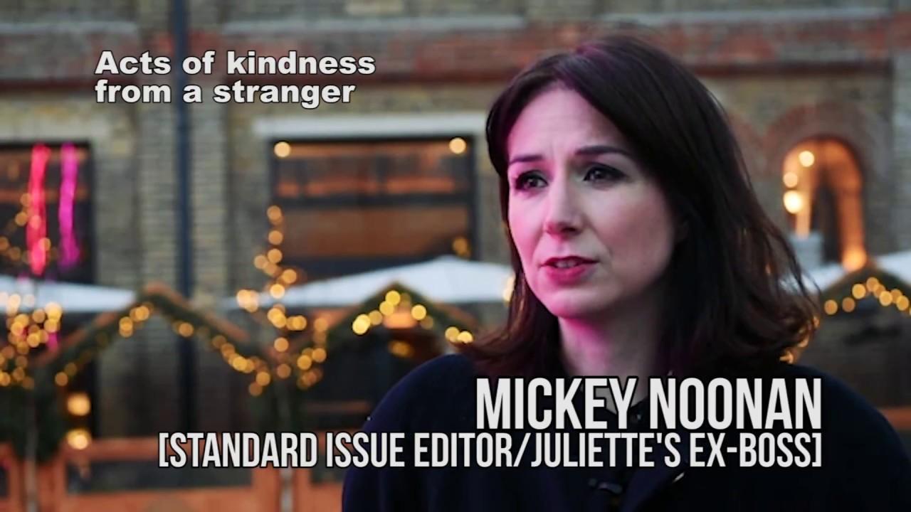Juliette Burton asks... How can a stranger be kind?