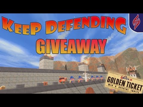 Golden Ticket & Keep Defending Giveaway ****Closed****