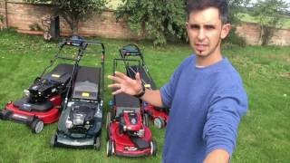 Mower road test for car owners: Rwd Vs Fwd Vs AWD garden petrol mowers
