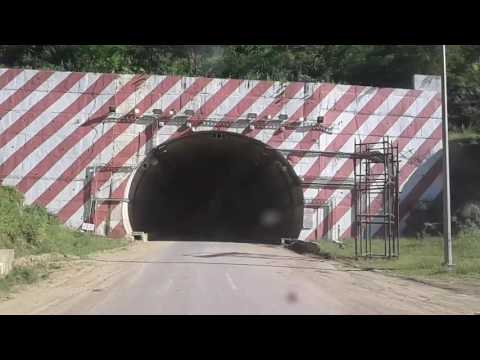 VIDEO OF BEAUTIFUL TUNNEL ON NATIONAL HIGHWAY AT MAIBANG  ( LUMDING TO SILCHAR)