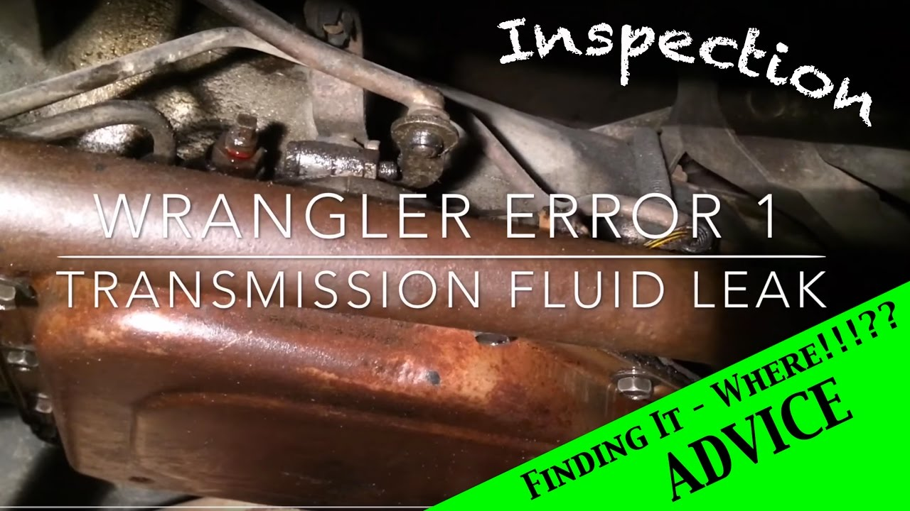 Transmission Fluid Leak >> Jeep Wrangler YJ : Transmission fluid leak - Ep 1 - YouTube