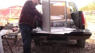 Rolling Tool Storage Cabinet Assembly