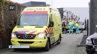 Afscheid van ambulancechauffeur Evert van den Berg in Elburg - ©StefanVerkerk.nl