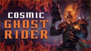 Origin of Cosmic Ghost Rider