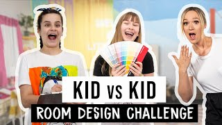Kid vs Kid Design Challenge ft. Alisha Marie, Drew Scott, and Amina Mucciolo | Mr. Kate