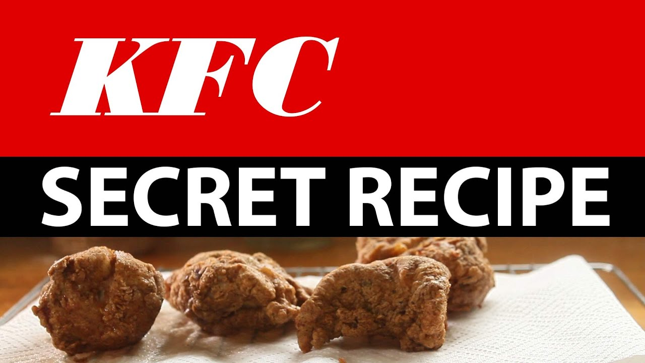Kentucky Fried Chicken Recipe Revealed - photo#39