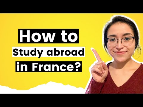 This is how to study abroad in France 2021 #shorts