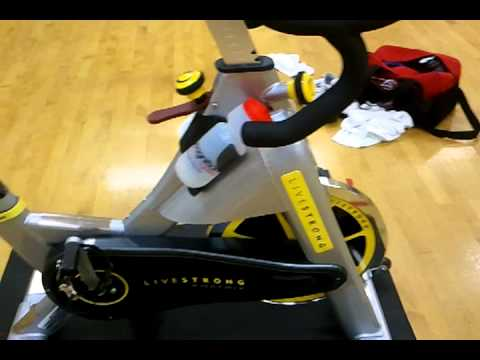 review of livestrong spin bike youtube. Black Bedroom Furniture Sets. Home Design Ideas