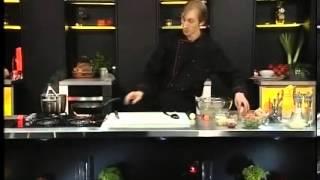 Острые овощи с тофу и соба