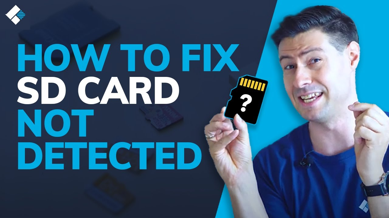 How to Fix SD Card Not Detected / Showing Up / Recognized on Windows 10/8/7