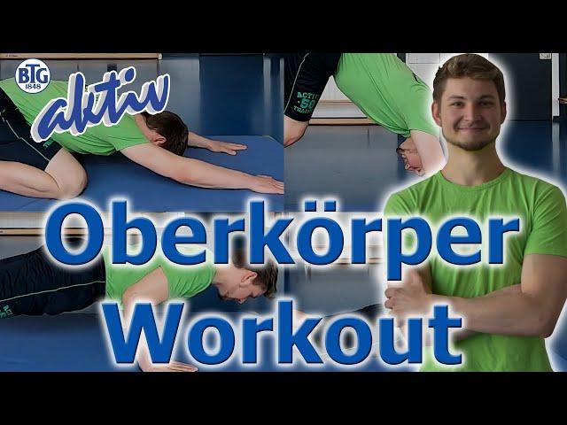 Oberkörper-Workout mit Marcel
