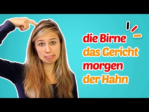 10 German Words With DOUBLE MEANINGS