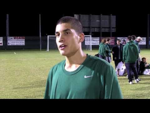 Tribe Men's Soccer Post Match - #14 William and Mary 2, Delaware 1