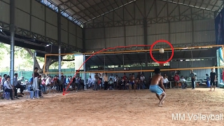 Cambodia Volleyball Match  || Top Running Player 1 Vs 1  Part #87