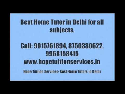 IB Home Tutor in Delhi for Physics, Chemistry, Math, Biology, French, German, English, Science etc.