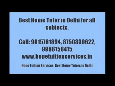 IB Home Tutor in Delhi for Physics, Chemistry, Math, Biology, French, German, English, Science etc.
