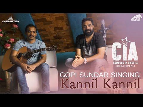 Gopi Sundar Singing Kannil Kannil   Comrade In America (CIA )   Dulquer Salmaan