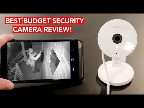 Best WiFi IP Security Camera Review (Under $30!!) - Works w/ iPhone & Android
