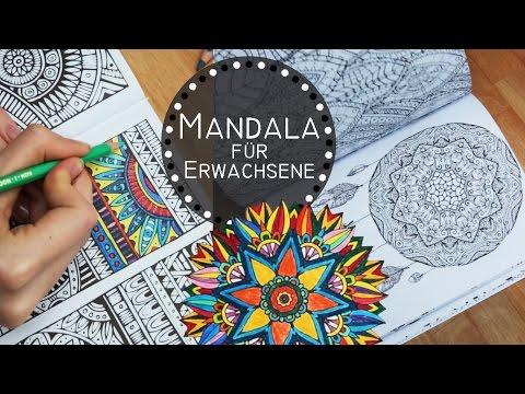 5 Gründe Mandalas zu malen - Zencolor, Zentrangle, für Erwachsene, Ausmalbilder