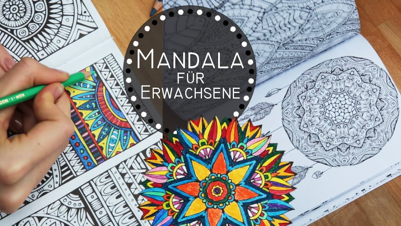 5 gr nde mandalas zu malen zencolor zentrangle f r erwachsene ausmalbilder youtube. Black Bedroom Furniture Sets. Home Design Ideas