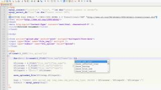 php 5 how to upload multiple images to folder and insert records to database