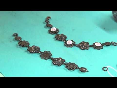 Steampunk Spoon Pendant, Art Nouveau Bracelet Projects from B'sue Boutiques
