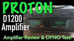 1985 Proton D1200 Amp Review and Dyno Test - Dynamic Power on Demand