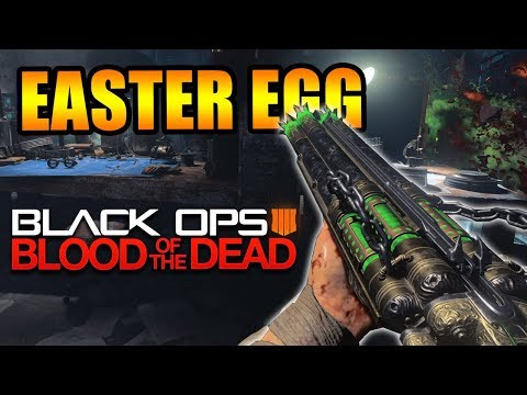 NUEVOS PASOS EASTER EGG BLOOD OF THE DEAD (BLACK OPS 4 ZOMBIES)  *DIA 5*