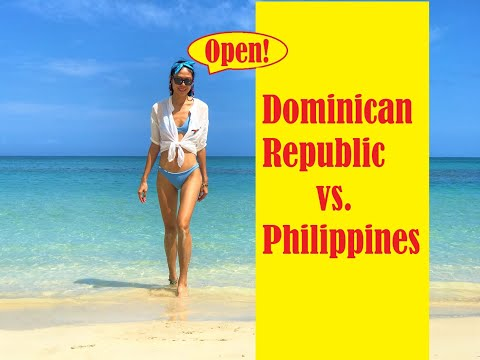 Comparing the Dominican Republic to the Philippines