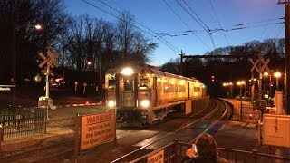 NJ Transit HD 60fps: Comet V Cab Car 6000 @ Denville on Train 882 (3/27/19)