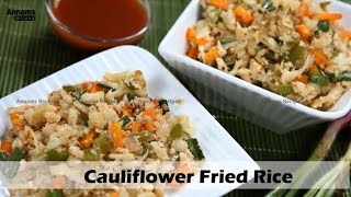 Cauliflower Fried Rice -Paleo Diet Recipe